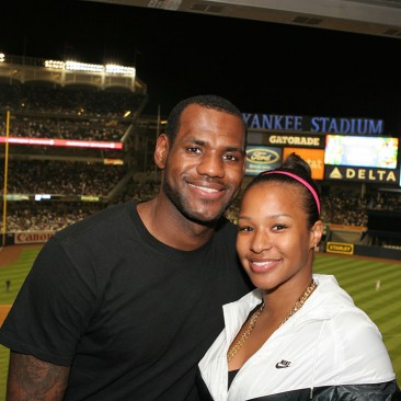 LeBron James at Yankee Stadium by IPI Event Photography